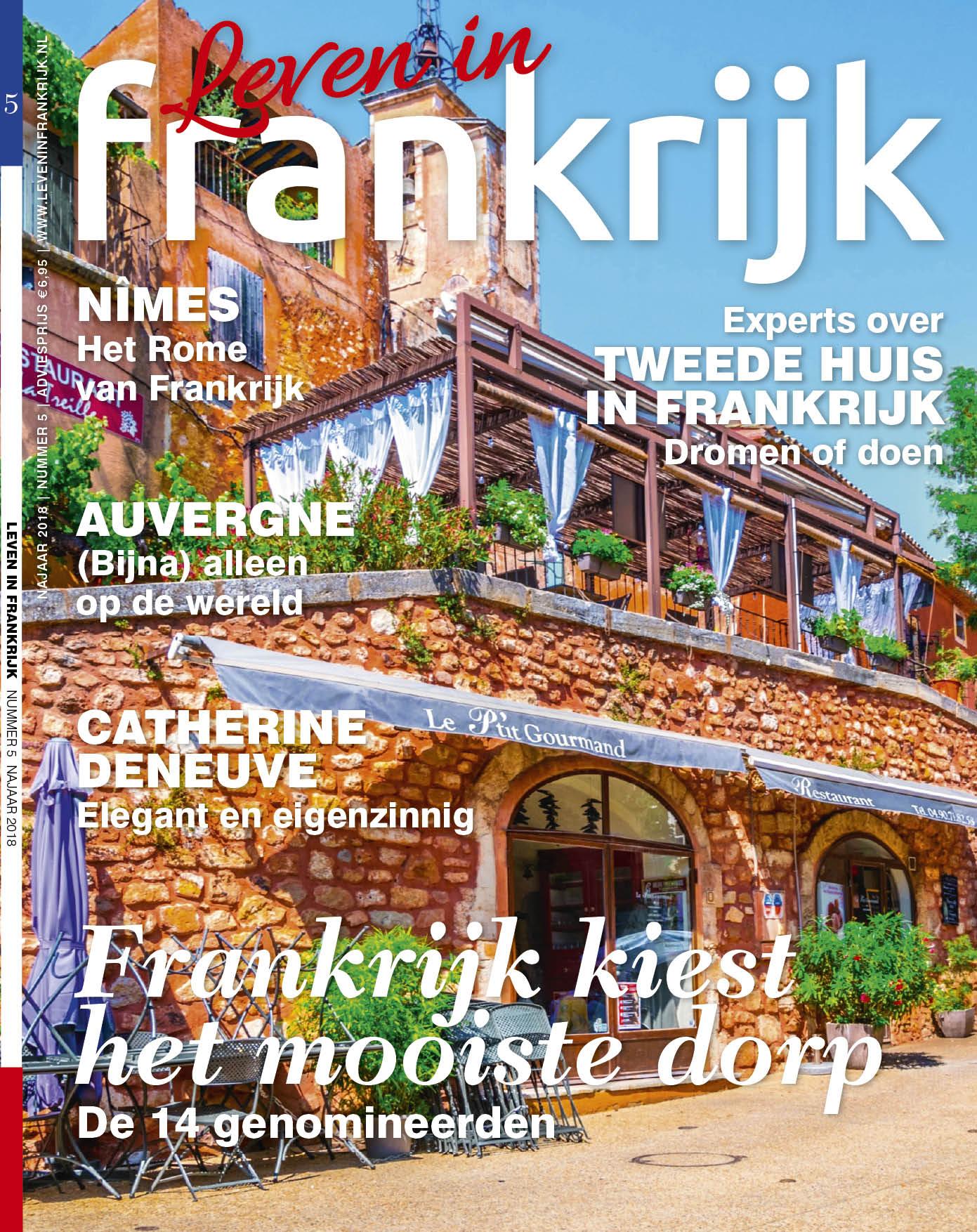 Afbeeldingsresultaat voor leven in frankrijk magazine nederland cover